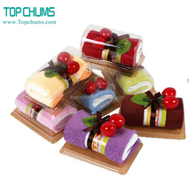 Cheap wholesale wedding favors gift for guests cake towel