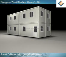 20ft movable container office-Reduced environmental impact through less waste
