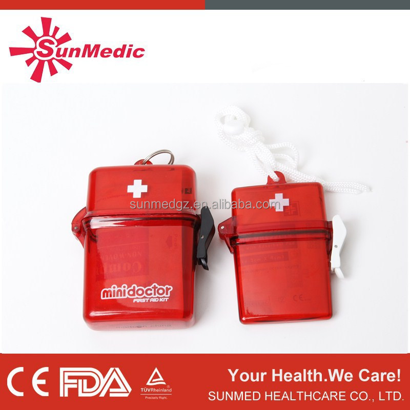FDA medical first aid box, top quality waterproof box