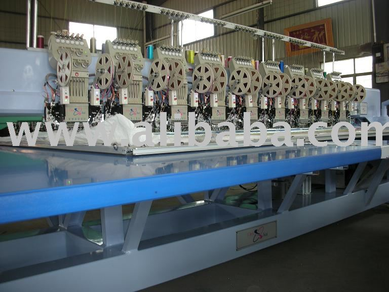 607/400/850/1200 double sequin embroidery machine
