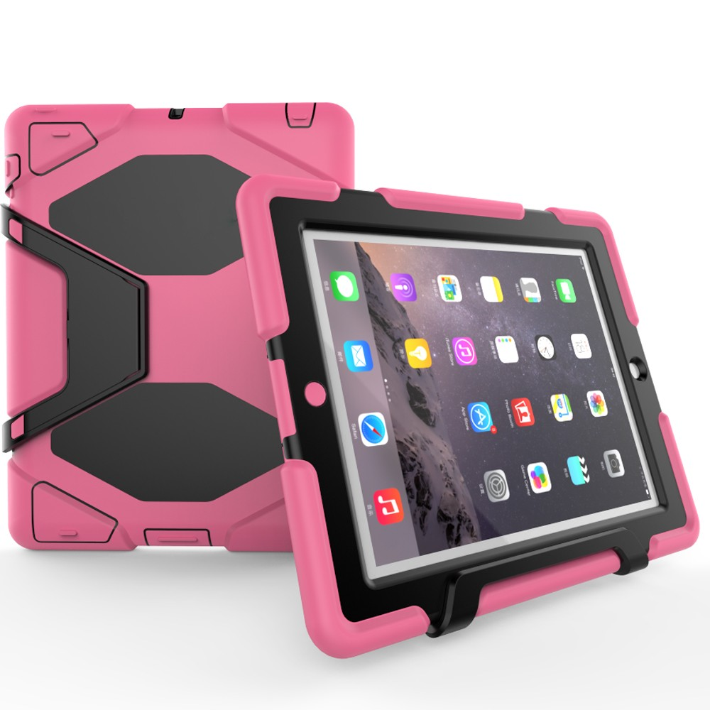 Heavy Duty Tablet Bumper Cases For iPad 2 3 4 Case Custom Silicone Tablet Case