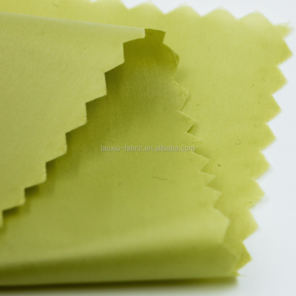 pongee fabric coated PA 100% Polyester Pongee Stretch Fabric For Sportswear fabric