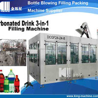 Automatic Monobloc Carbonated Drink Filling Machine