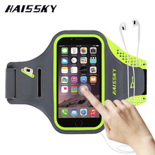 Drop shipping armband waterproof armband for iphone x Sport Running Arm Band Case Wallet Cover 4 colors Ready sample