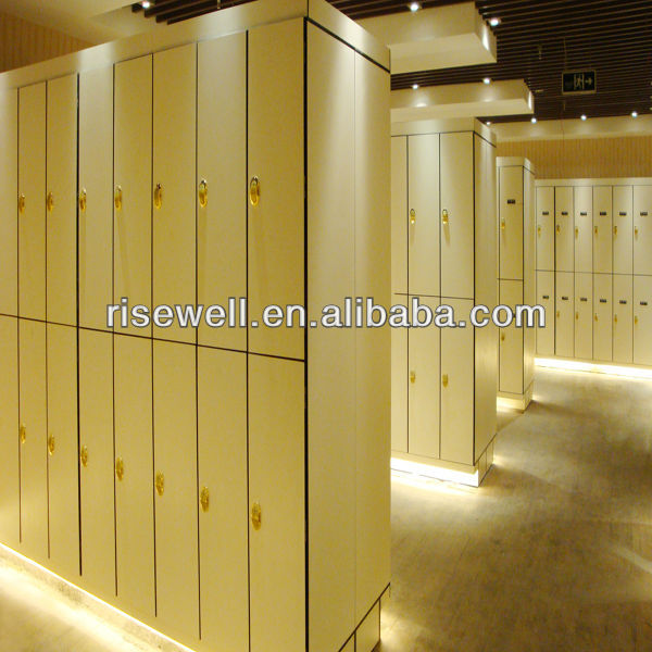 DEBO Hot Sale High Quality HPL compact Storage shopping mall Locker