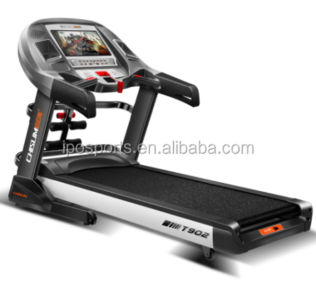 IPO Best Light And Best Rated Commercial Quality Treadmill 2.5hp Electric Motor With TV/ Massage And Twister And USB XT2
