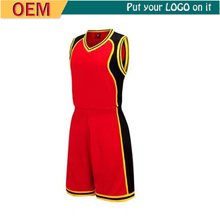 Manufacture basketball jersey dresses for women design template color pink shirt