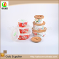 Multifunctional decal mini soup bowl with great price
