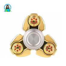 Aluminum alloy triangular hand spinner decompression toys handspinners
