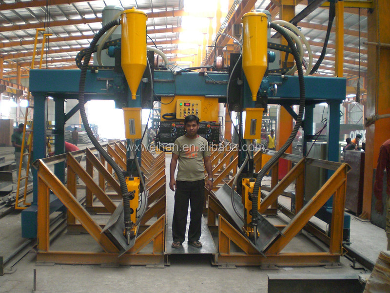 Structure Steel H Beam Fabrication Machine - Buy Structure ...