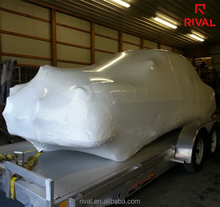 big size ldpe car shrink wrap film for move homes