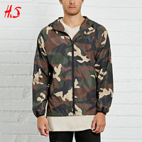 Fashion Long Sleeve Camo Print Custom