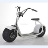 Two seat citycoco two big wheels 60v 12ah electric scooter battery