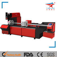 Fiber Metal Laser Cutter with Cutting Fabric Laser Head
