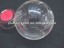 pure crystal ball with laser paperweight for home decorations(R-0677