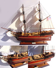 LADY WASHINGTON WOODEN TALL SHIP MODEL - WOODEN MODEL SHIP