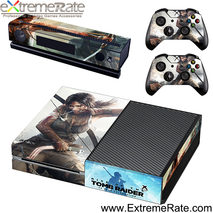 Cheap price stickers for Xbox One console skins with 1 console skin + 2 controller skins GSTM0686