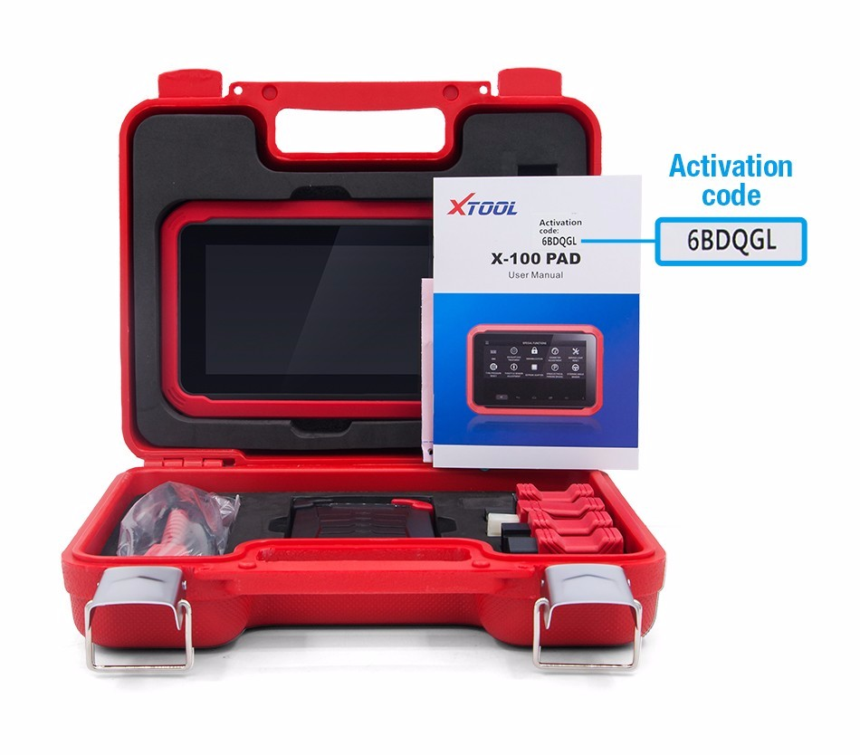 Newest Original Xtool Product X-100 PAD Function As X300 Pro X300 Auto Key Programmer Update Online X100 Pad