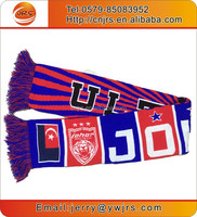 Best price soccer scarf football team scarf