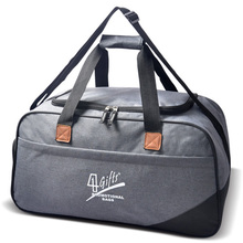 600D polyester material duffle bag sports gym travel luggage