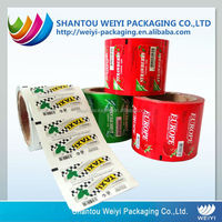Laminated food packaging film /packing plastic film roll for automatic packaging