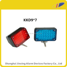 red blue led rear strobe warning light, police motorcycle led light,led warning light strobe light