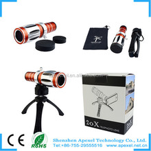 New Arrival zoom optical lens 50X Telephone Camera Lensmobile telephoto lens 50x for Mobile phone