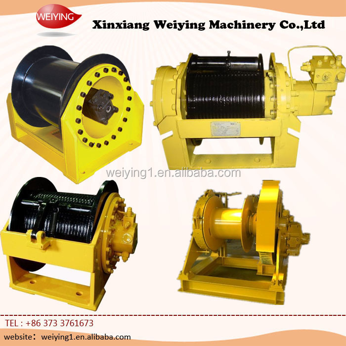 New and small hydraulic winches with motor for sale