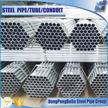 China wholesale zinc coating 40-80g 5 inch galvanized steel pipe