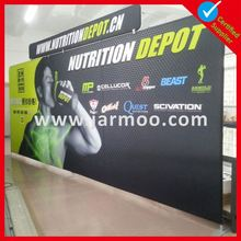 10ft Hot Selling Outdoor Fabric Exhibition Wall And Booth Tension Fabric Wall pop up display pop up banner
