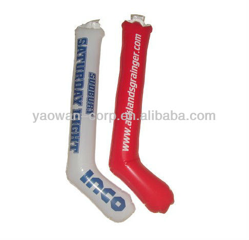 Mini Inflatable cheering hockey stick