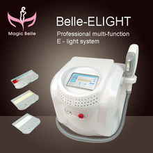 Popular Style!! Red Blood Streak Removal/Hair Removal Machine Elight Equipment with Teaching Video