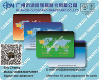 Contact IC SLE5542 &SLE4442 card with magnetic strip