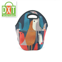 Promotional new design tote cooler neoprene lunch bag
