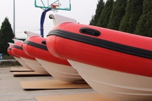 Hypalon inflatable rib boats rigid hull fiberglass frp boat RIB-460 for sale!!!
