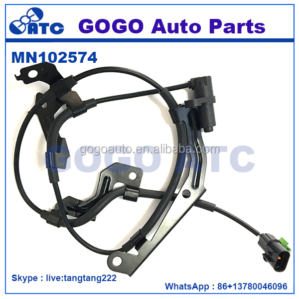 <strong>Front</strong> Right ABS Wheel Speed Sensor for Mitsubishi <strong>L200</strong> Triton Pajero OEM MN102574