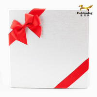 High quality pre tied ribbon bow for gift boxes wrap