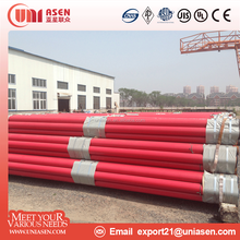 China manufacturer UL listed astm a53 erw welded steel pipe fire sprinkler pipe