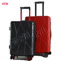 trolley bag abs material hard shell suitcases travel luggage for trolly