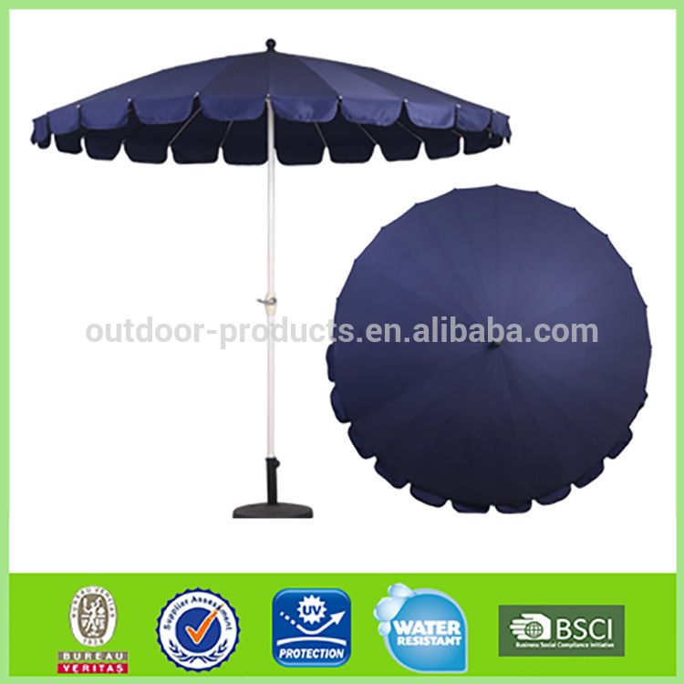 Hot sale Factory wholesale Sun protection Polyester umbrella/outdoor