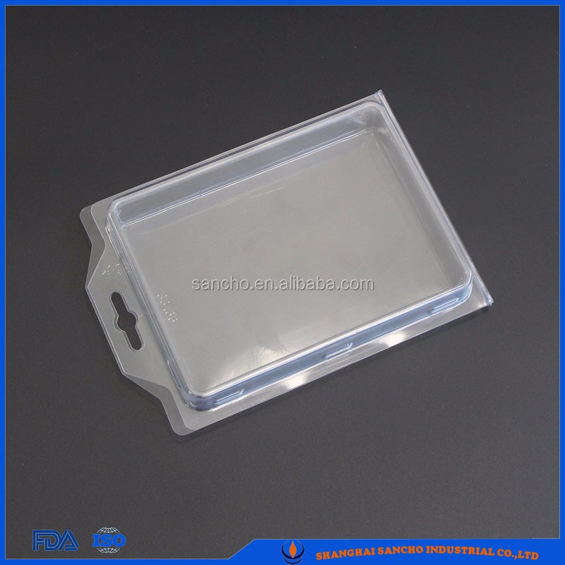 PVC PET clamshell packaging,euro blister pack