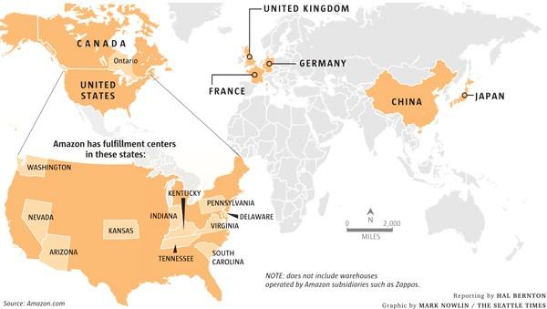 Где находится europe distribution center