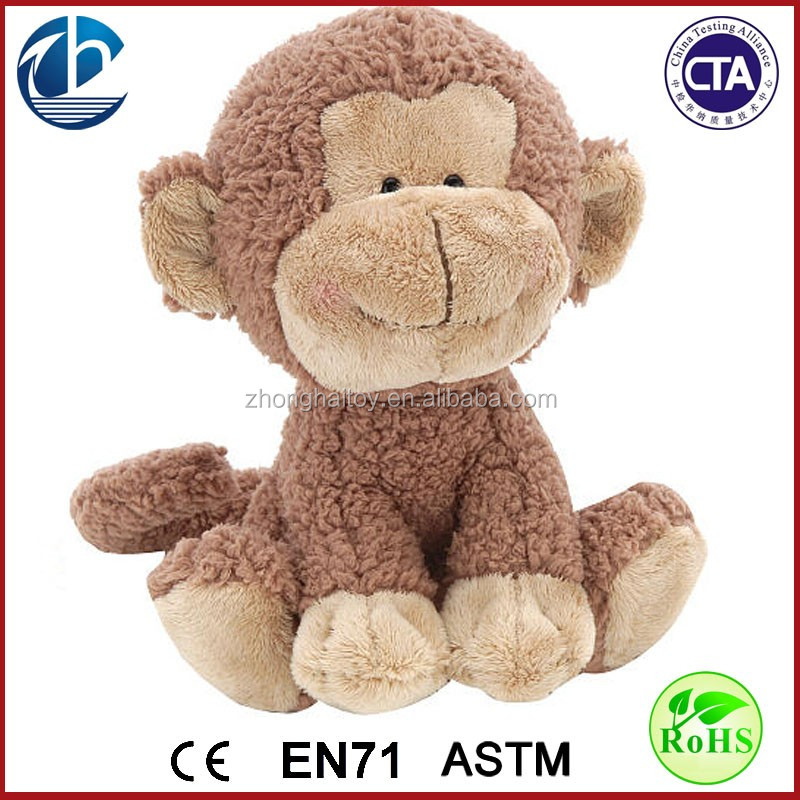 Cheap Custom Cute Monkey Plush Toy / Monkey Stuffed Plush Toy