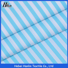 "strip designs polyester/cotton 65/35 45/2X21 138X71 58"" medical fabrics for hospital cloths and bed sets sell to India hospital"