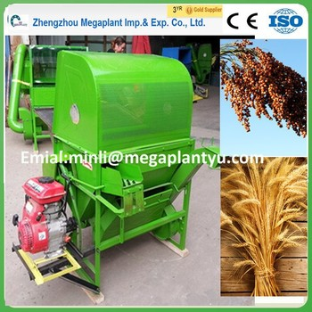 800kg capacity automatic wheat and rice thresher machine for sale