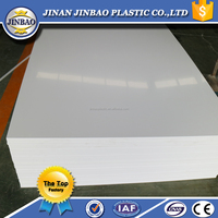 2mm 3mm 1220x2440mm high quality rigid opaque white pvc sheet