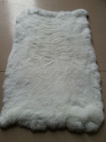 WHOLESALE RABBIT FUR PLATE---FROM CHINA FACTORY