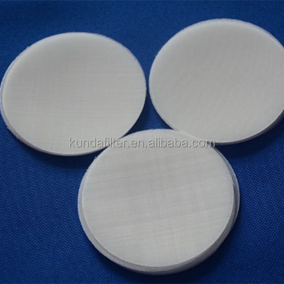 80mesh 100um 200 micron nylon filter disc, micron filter disc, pa filter fabric
