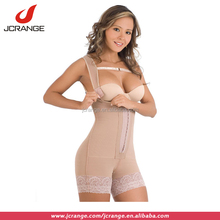 Lace up waist training corsets firm control slimming body shaper suit underwear