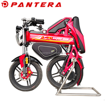 Chongqing S1 E-bike Mini Pantera Battery Powered Motorcycle Folding Electric Portable Scooter